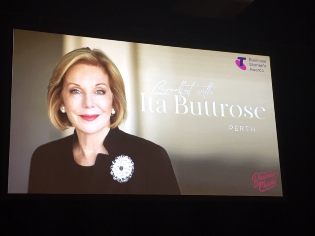 Ita Buttrose at Business Chicks